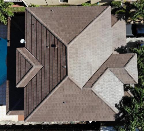 Flat tile